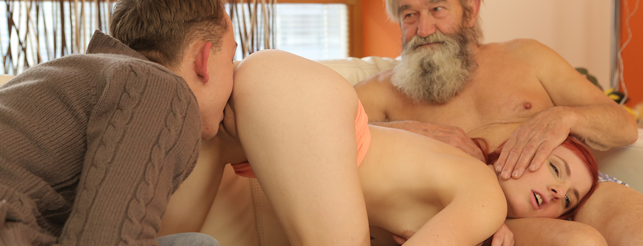 girl fucked old man